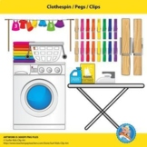 Clothespin / Pegs / Clips