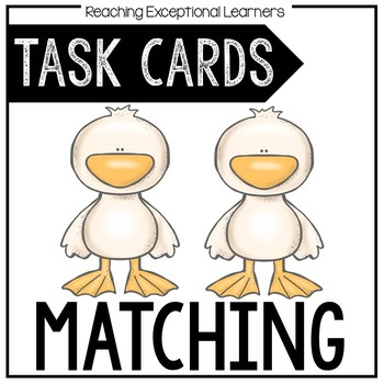 Matching Task Card Set