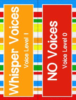 Voice Level Clip Chart