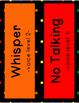 Voice Level Clip Chart - Rainbow Polka Dot