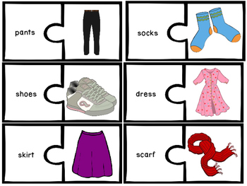 Clothing - 33 puzzles