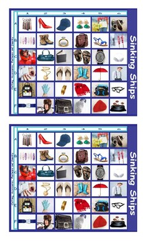 Clothing, Accessories, Footwear and Jewelry Battleship Board Game