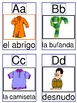 Clothing Alphabet Cards A-Z and Go Fish Game
