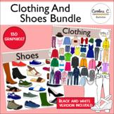 Clothing And Shoes Clip Art Bundle