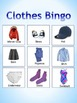 Clothes Bingo