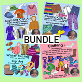 Clothing Clip Art Bundle - 153 Realistic Images
