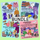 Clothing Clip Art Bundle - 226 Realistic Images