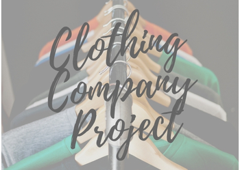 Marketing a Clothing Company Project