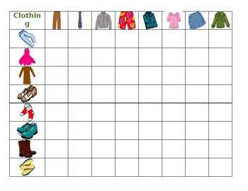 Clothing Connect 4 Game