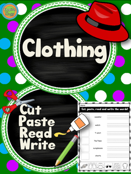 Clothing - Cut and Paste
