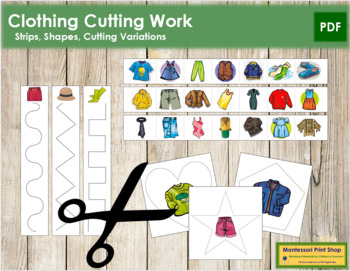 Clothing Cutting Strips