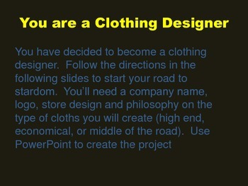 Clothing Design Project