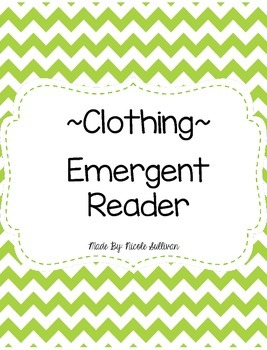 Clothing Emergent Reader