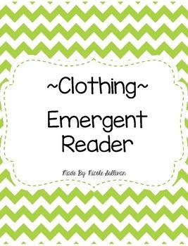Clothing Emergent Reader