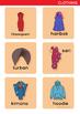 Clothing - Flash Cards - Word Wall - ESL/EAL
