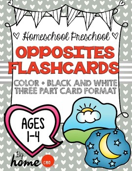 Opposites Flashcards
