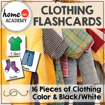 Clothing Flashcards