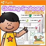 Clothing Geoboards: Shape Activity for Pre-K / Preschool Math