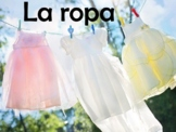 Clothing (La Ropa) Power Point Presentation in Spanish (62 slides)