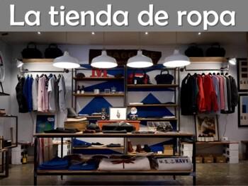 Clothing (La Ropa) Power Point Presentation in Spanish (62 slides)
