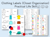 Clothing Labels [Closet Organization] Practical Life Skill