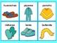 La Ropa -loteria/ Clothing Bingo Spanish game