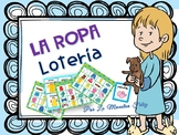 La Ropa -loteria/ Clothing Bingo Spanish game