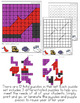 Clothing Mystery Picture Hundred's Chart Puzzles