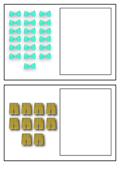 Clothing Number Activity Cards 1 to 20