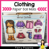 Clothing Paper Doll Mats
