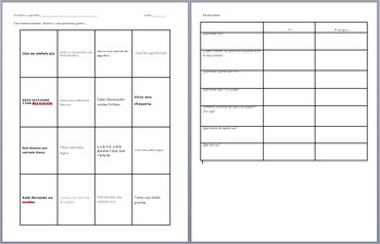 Clothing: People Bingo and Interpersonal Interviews
