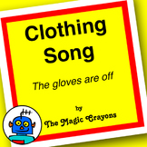 English ESL EFL Clothing Song #2 - Kindergarten, Preschool