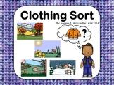 Clothing Sort - A Game of Describing