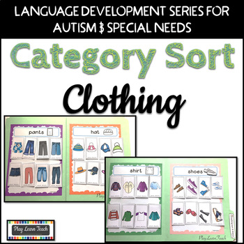 Clothing Sort for Autism and Early Childhood