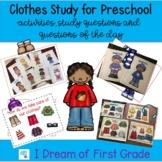 Clothes Study for Preschool