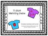 Clothing - T-Shirt Matching Game