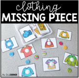 Clothing Themed Missing Pieces Task Box | Task Boxes for S