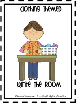Clothing Themed Write the Room