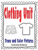 Clothing Unit- Color And Trace Clothes