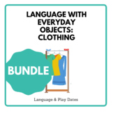 Clothing Unit: Crafts, Literacy, & Everyday Activities wit