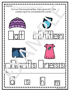 Clothing Unit Worksheets and Activities