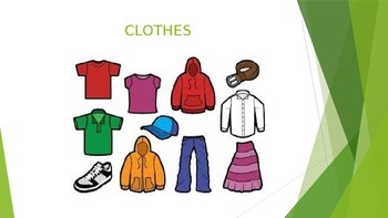 Clothing Unit and Classifiers