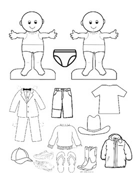 Clothing Unit/Paper Dolls