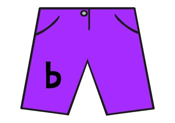 Clothing Uppercase and Lowercase Matching