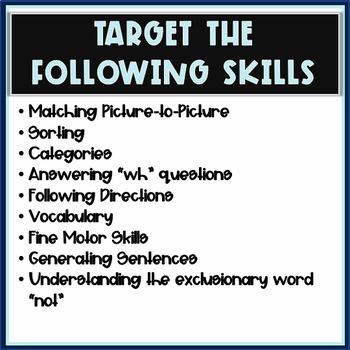 Clothing Vocabulary Activity Packet