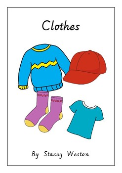 Clothing adapted book