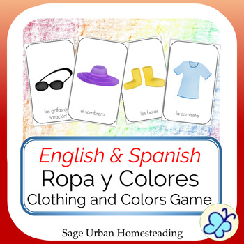 Clothing and Colors Ropa y Colores Game