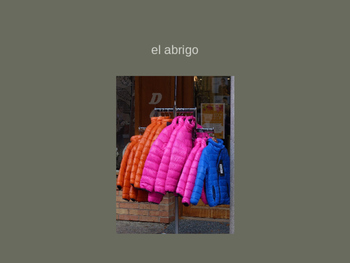 Clothing and Colors Vocabulary PowerPoint and Practice