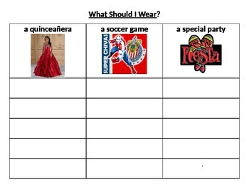 Clothing choices for different events -What should I wear?