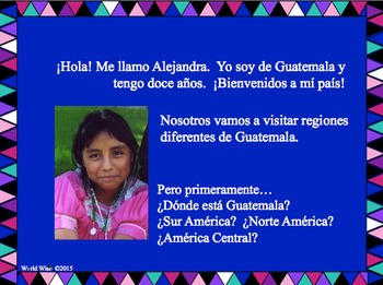 Clothing and Colors of Guatemala - Avancemos Chapter 4